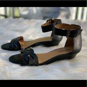 Nine West Valci sandals wedges size 7M